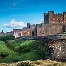 Bamburgh Castle by vivsworld