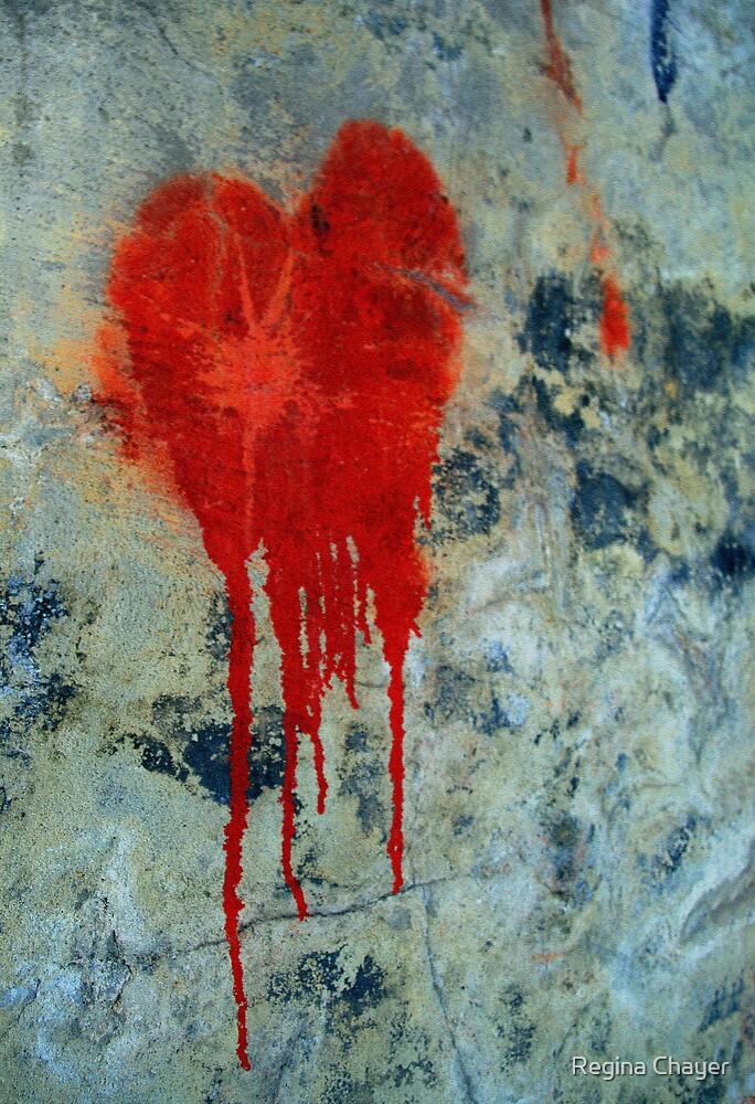 Bleeding Heart by Regina Chayer