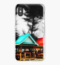 Colorful Beach Huts iPhone Case/Skin
