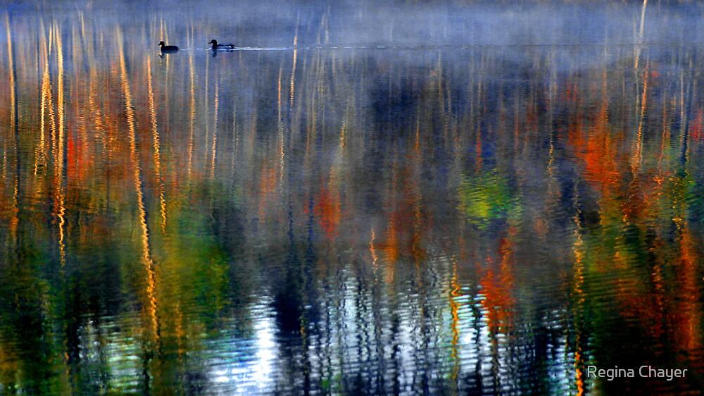 Monet Morning by Regina Chayer