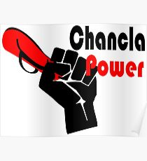 Chancla Power! Poster