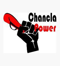 Chancla Power! Photographic Print