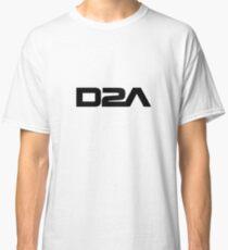 D2A - Musical Artist - Black Logo Classic T-Shirt