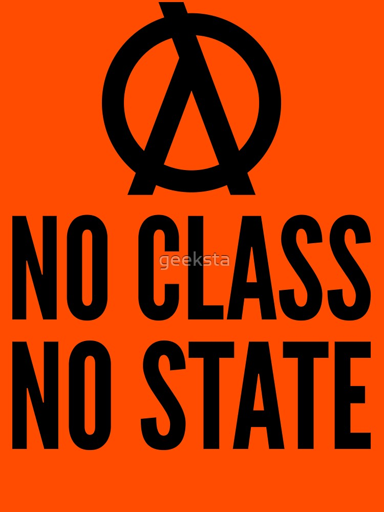 No Class No State Functional Programmer Black Text Design by geeksta