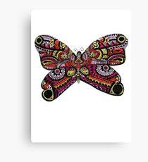 Unique Butterfly Design  Canvas Print