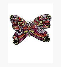 Unique Butterfly Design  Photographic Print