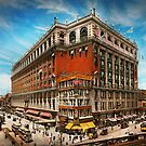 City - NY New York - The nation's largest dept store 1908 by Michael Savad