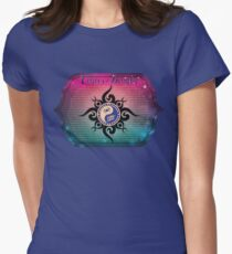 East West Astrology Cancer-Dragon Women's Fitted T-Shirt