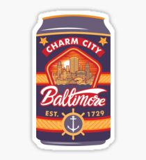 Baltimore Beer Sticker