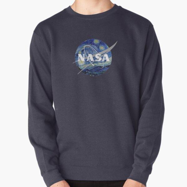 Starry Night Nasa Pullover Sweatshirt