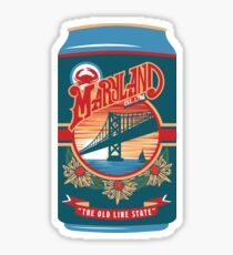 Maryland Beer Sticker