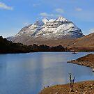 Loch Clair and Liathach by Maria Gaellman