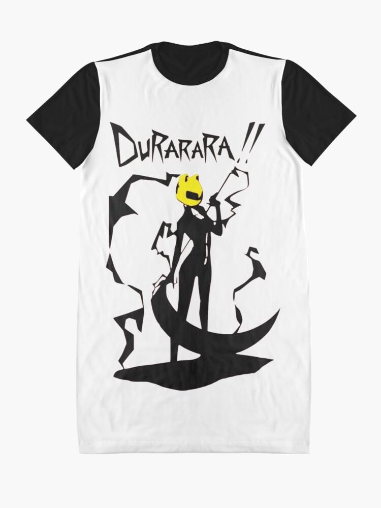Alternate view of Durarara!! - Celty Shadow Graphic T-Shirt Dress
