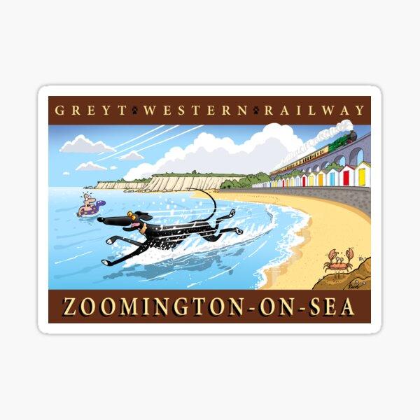Greyt Western: Zoomington-on-sea Sticker