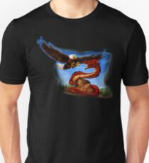 Rock, Dragon, and Eagle Unisex T-Shirt