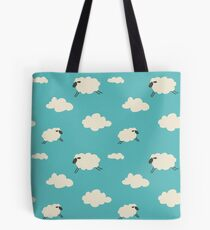 Sheep Clouds and Cloud Sheep Tote Bag