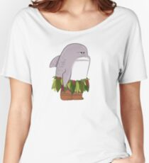 Funny Shark Head Maui Women's Relaxed Fit T-Shirt
