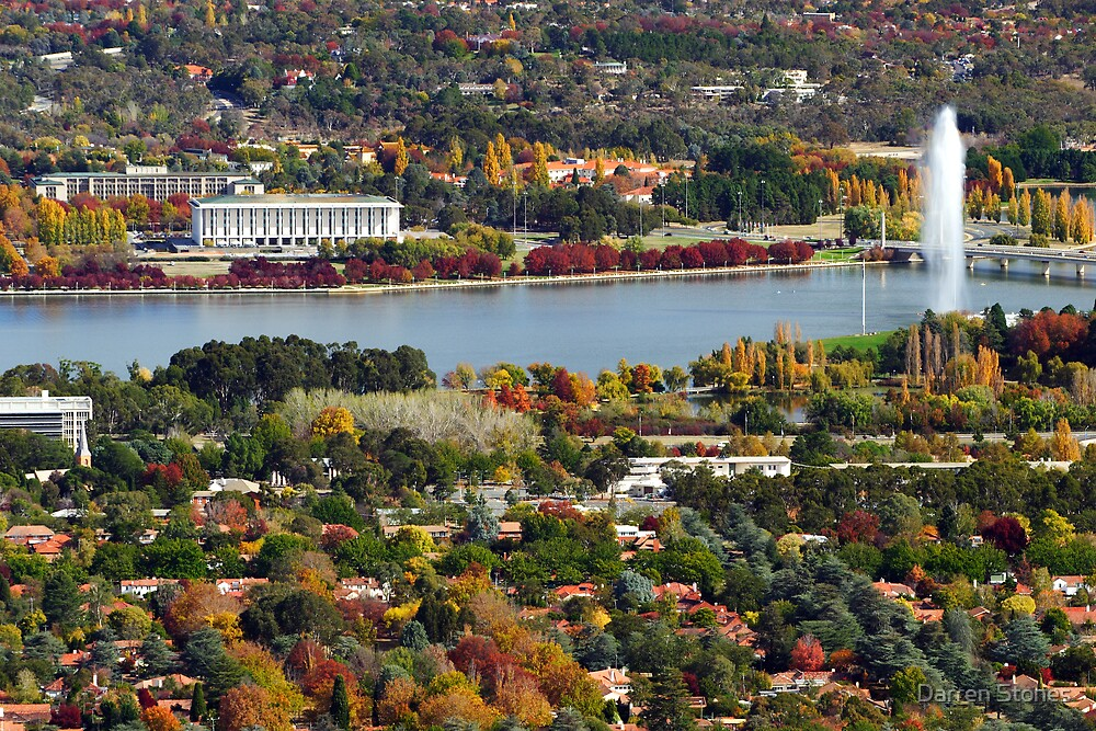Canberra during autumn by Darren Stones