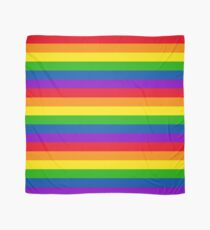 Rainbow Gay Pride Flag Scarf