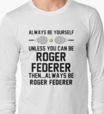 federer betterer Long Sleeve T-Shirt