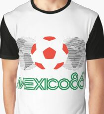 Mexico World Cup 1986 Graphic T-Shirt
