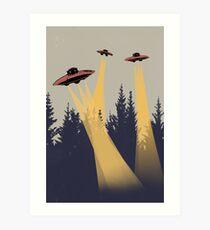 Alien INVASION Art Print