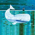 Moby Dick The Great White Whale by Maria Burns