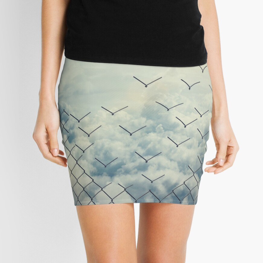 Magical ecape  Mini Skirt