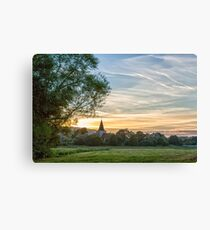 St Andrews Church, Alfriston, Canvas Print