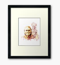 THE FADING OF THE OLD WAYS Framed Print