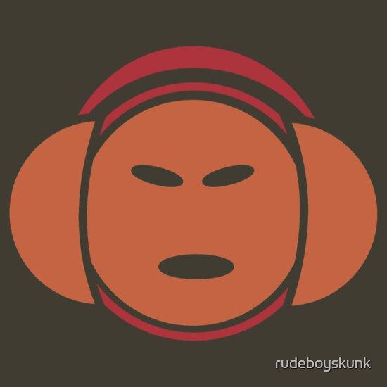 TShirtGifter presents: Headphone Idol (orange print)