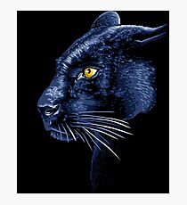 Panther profile Photographic Print