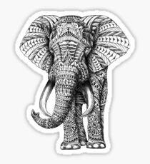 tribal elephant sticker Sticker
