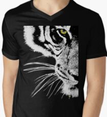 The Look of the Tiger Men's V-Neck T-Shirt