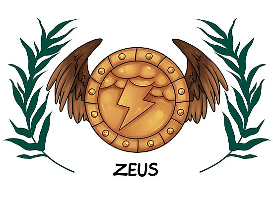 Zeus Inspired Cabin Symbol Photographic Prints By Saintnightshade