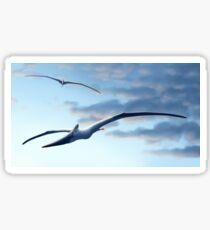 Pteranodon Gals Sticker