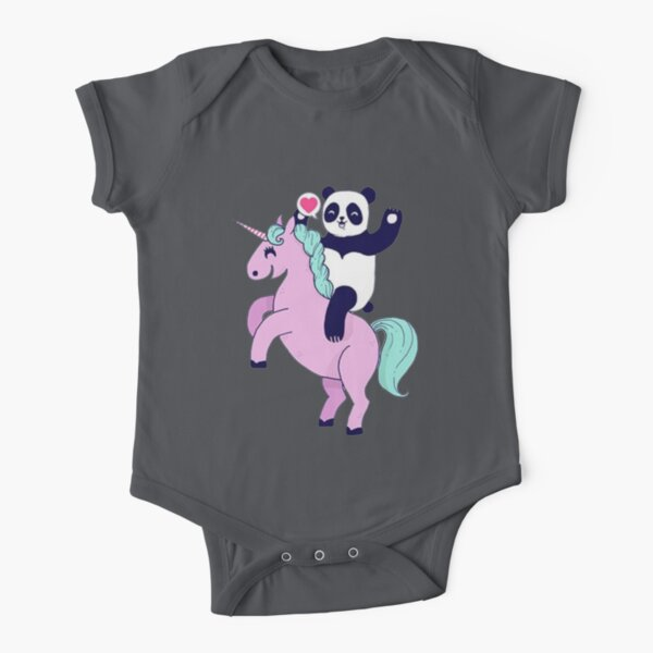 Raccoonicorn Unicorn Boys Girls Toddler Classic 2-6Year Old Short Sleeve Round Neck T-Shirt Top