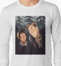 mitch and jonas behind the fence T-Shirt