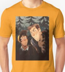mitch and jonas behind the fence Unisex T-Shirt