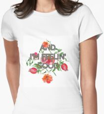 And I'm feelin' good - pomegranate style Women's Fitted T-Shirt
