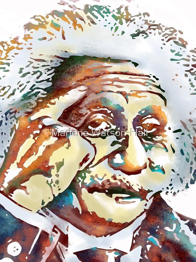 Albert Einstein by marlenewatson