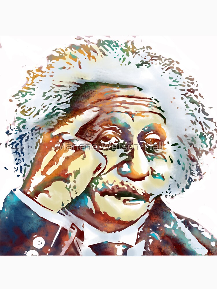 Albert Einstein by marlenewatson