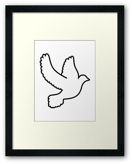 Dove bird by Designzz