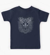 Weißer Hirsch. Fantasie Kinder T-Shirt