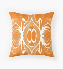 Retro Orange Clothing, Decor and Accessories.  Throw Pillow