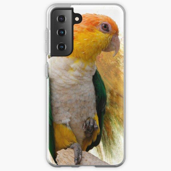 Caique, Tropical Bird Samsung Galaxy Soft Case