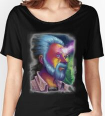 Phillip K. Dick Portrait Women's Relaxed Fit T-Shirt