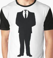 Anonymous (Headless Man) Graphic T-Shirt