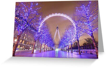 London Christmas Eye by Adam Gormley