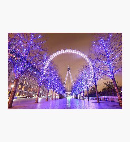 London Christmas Eye Photographic Print